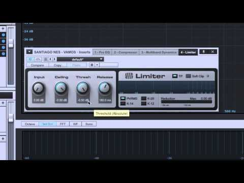 Mastering With Stock Plugins: Limiting – TheRecordingRevolution.com