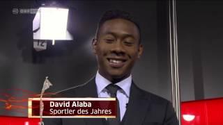 David Alaba wird Österreichs Sportler des Jahres 2014