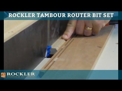 Tambour Bit Set