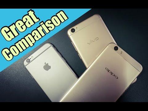 Video Oppo F1s vs Vivo Y55L vs iPhone 6 | Great Massive Comparison download in MP3, 3GP, MP4, WEBM, AVI, FLV January 2017