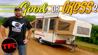 Is It Possible to Bring a Camping Trailer Back from the Dead for $1,500? Yes, Here is How! by The Fast Lane Truck