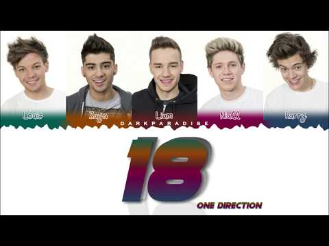 One Direction - 18 (Color Coded Lyrics)