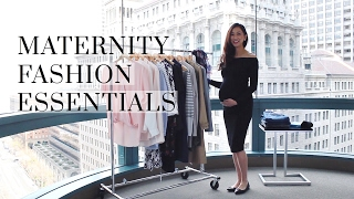 I thought it would be helpful to put together a video of all the fashion essentials that I loved styling the bump with throughout the 1st ...