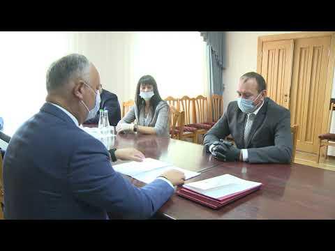 Президент Республики Молдова отправился с рабочей поездкой в Хынчештский район