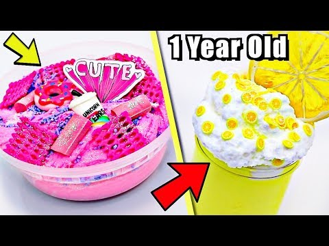 EXTREME SLIME MAKEOVERS! Fixing 1 Year Old Instagram Slime!