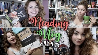 A MONTH'S WORTH OF UNBOXINGS | Reading Vlog: July 9-15
