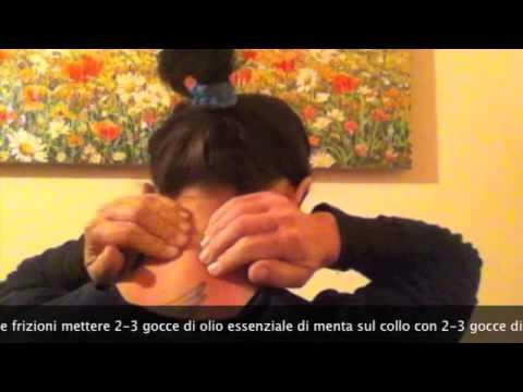 automassaggio contro i dolori cervicali