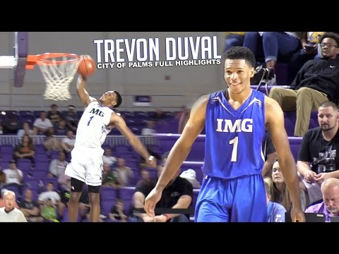 Trevon Duval Shows Why He's #1 PG!   City Of Palms FULL HIGHLIGHTS (видео)