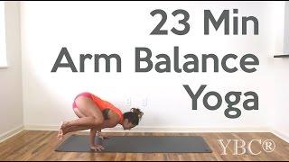 Video 23 Minute Arm Balance Yoga MP3, 3GP, MP4, WEBM, AVI, FLV Maret 2018