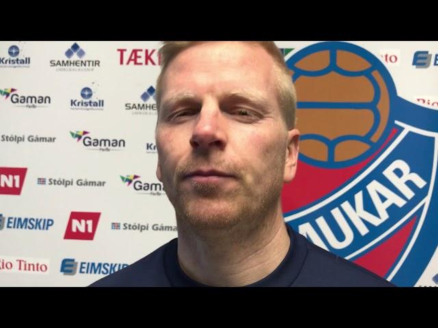 Kristján Ómar: Píni mig til að horfa á upptöku af þessum leik