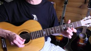 Free Lesson - Country Blues C-lick for intro/outro So Different Blues/Mance Lipscomb