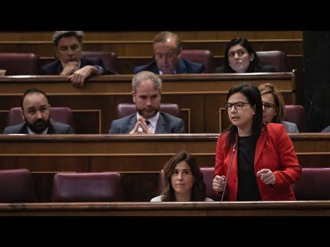 Intervención de Ana Vázquez en la Sesión de Control al Gobierno