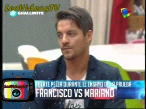 Francisco Vs Mariano Discucion en el vivo parte 2 GH 2015 #GH2015 #GranHermano