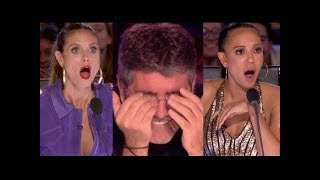 Video The Best Top 6 AMAZING Auditions - America's Got Talent 2017 - MUST WATCH! MP3, 3GP, MP4, WEBM, AVI, FLV November 2018
