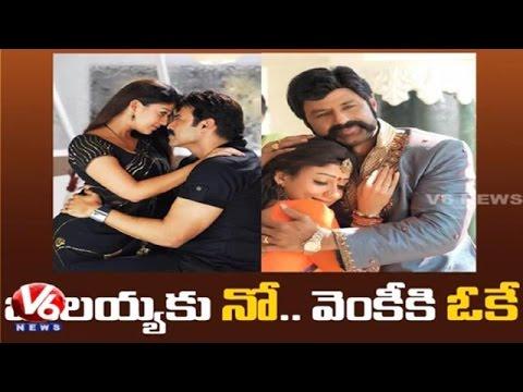 Nayantara says 'NO' to Balakrishna and says 'YES' to Venkatesh Movie