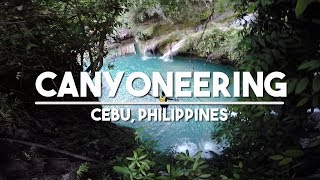 Badian Philippines  City new picture : GoPro 4: Canyoneering in Badian Cebu Philippines