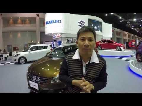 รีวิวแรกของไทย Suzuki Ciaz (เซียส) รุ่นท๊อป  จากงาน AutoSalon 2015 ก่อนเปิดตัว