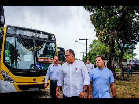 Prefeitura de Maceió entrega 20 novos ônibus à população