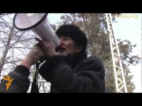 Окап Мукажанулы :  Айтшы, қане Нұрсұлтан ! (видео)