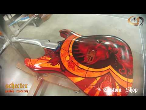 SCHECTER CUSTOM SHOP 2013 PART 3