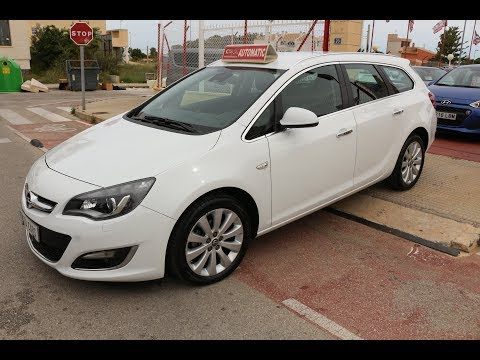 See video Opel ASTRA 1.4T ESTATE AUTO