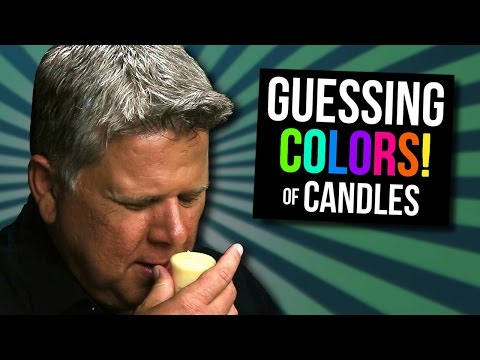 Blind Film Critic Tommy Edison Tries to Guess the Color of Scented