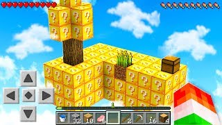 Video EXTREME SKYBLOCK LUCKY BLOCK SURVIVAL! MP3, 3GP, MP4, WEBM, AVI, FLV Desember 2018