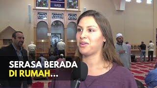 Download Video Reaksi Bule Non Muslim Saat Pertama Kali Memasuki Masjid 💥 Sub Indonesia MP3 3GP MP4
