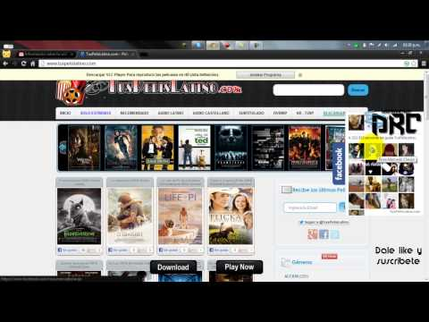 Pagina Web para ver peliculas online Totalmente gratis HD