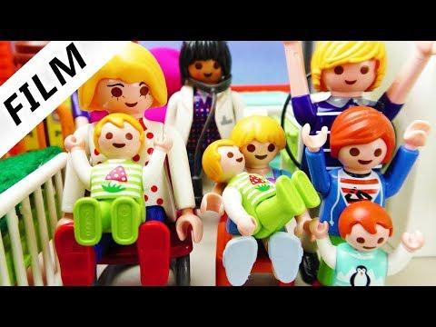 Playmobil Film Deutsch - GEBURT DER ZWILLINGE! FAMILIE VOGEL BEKOMMT ZUWACHS - Kinderserie