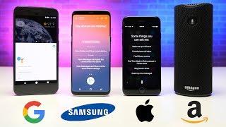 Video Alexa vs. Siri vs. Bixby RAP BATTLE! MP3, 3GP, MP4, WEBM, AVI, FLV Februari 2019