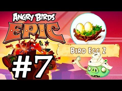 Angry Birds Epic #7 Геймплей Прохождение  Gameplay Walkthrough Part 7