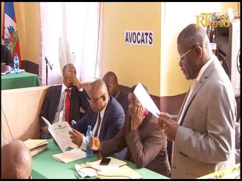 Haïti / Election.- Séance d'audition des cas de contestation des résultats