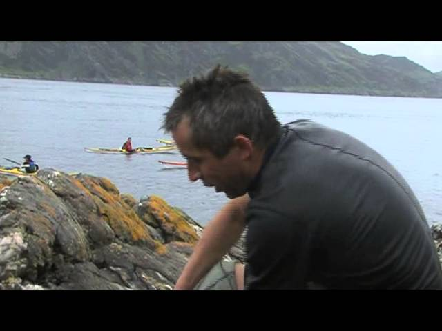 A Man In A Hurry – 1st blind swimmer to cross the Corryvreckan Gulf – 7th August, 2011.