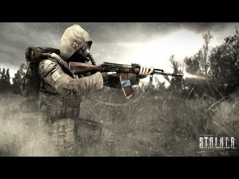 stalker call of pripyat pc gameplay