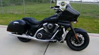 3. On Sale $14,199:  2013 Kawasaki Vulcan 1700 Vaquero Metallic Flat Spark Black