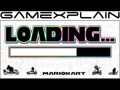 Mario Kart 8 Deluxe Load Times Comparison (Nintendo Switch Vs. Wii U - Digital & Physical!)