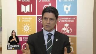 REPÓRTER NBR - 17.07.17: Nesta segunda-feira, em Nova Iorque, nos Estados Unidos, o Brasil apresentou um relatório sobre a adoção, na prática, dos Objetivos de Desenvolvimento Sustentável. A apresentação foi durante o Fórum Político de Alto Nível da Organização das Nações Unidas, a ONU.