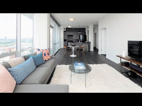 Tour a 2-bedroom furnished model in the South Loop at The LEX