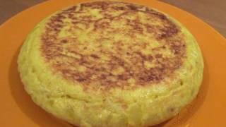 Tortilla de patatas - Receta de cocina española