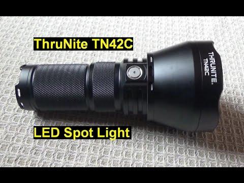 ThruNite TN42C Flashlight Hardcore Field Test   Up To 5 Miles