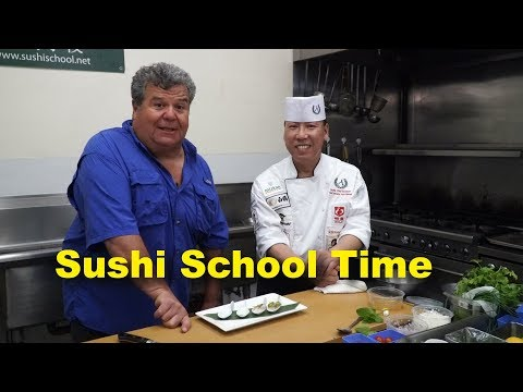 Sushi Cooking School - New Cooking Segments