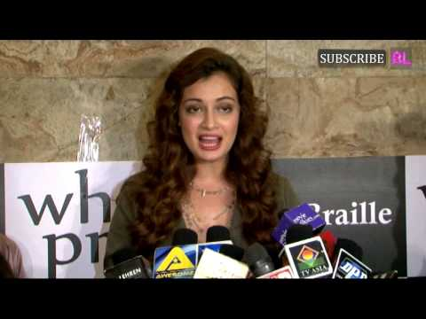 Dia Mirza Unveiled B for Braille a Musical Short F