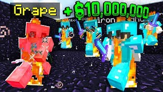 LAST PLAYER STANDING WINS $10,000,000! (Minecraft Skyblock)