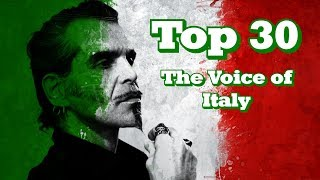 Video My Top 30 Blind Auditions - The Voice of Italy MP3, 3GP, MP4, WEBM, AVI, FLV Maret 2019