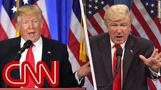 Video Baldwin returns as Trump on 'SNL' after feud MP3, 3GP, MP4, WEBM, AVI, FLV November 2018