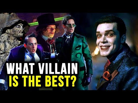 Gotham's Villains Ranked From WORST to BEST!!