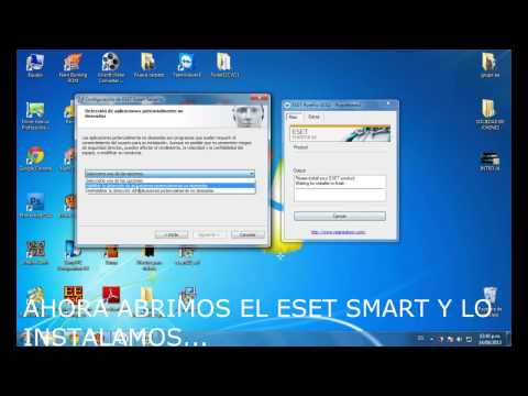 ESET SMART SECURITY 5 + LICENCIA ETERNA...!!