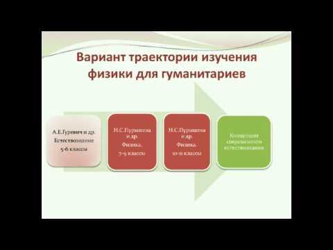 «Как учить физике гуманитариев?» (на примере УМК Н.С. Пурышевой)
