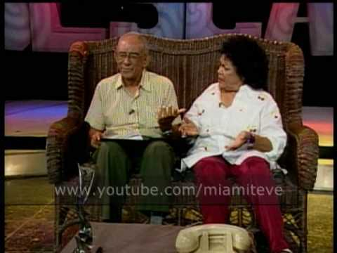 Alegrías de Sobremesa - Aurora Basnuevo y Mario Limonta - TV Cubana